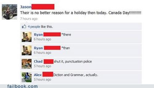 canada day,grammar,oh snap,spelling