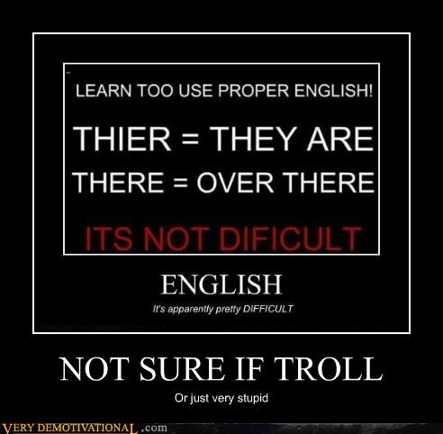 english hilarious stupid troll