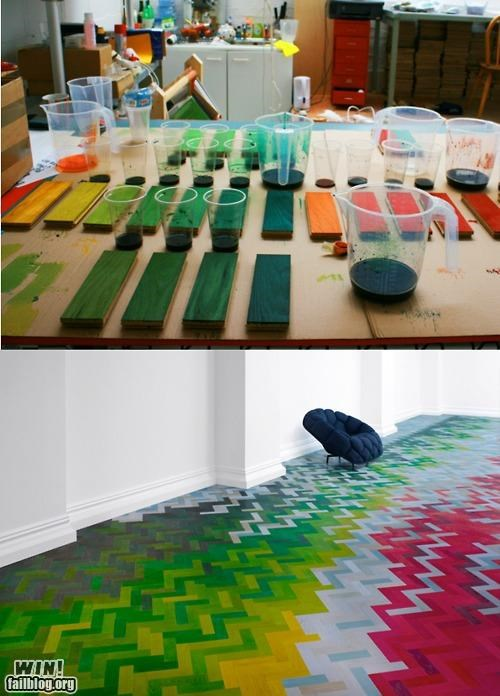 awesome colours design flooring Hall of Fame homes rainbows