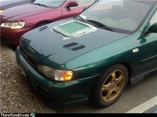 cars,dual use,hood,tape