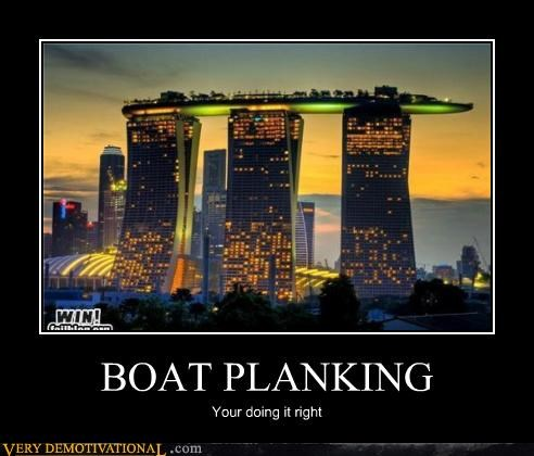 BOAT PLANKING Your doing it right