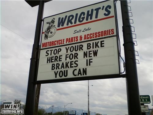 bikes brakes clever sign summertime - 4928709632