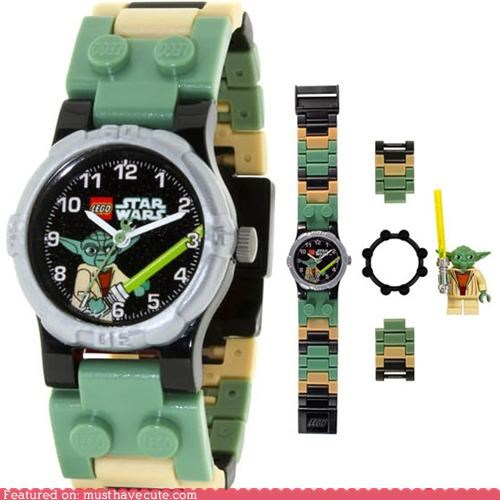 accessories,lego,star wars,watch,yoda