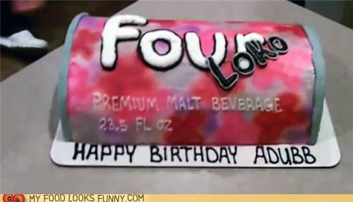 birthday blackout booze cake drunk four loko - 4928835328