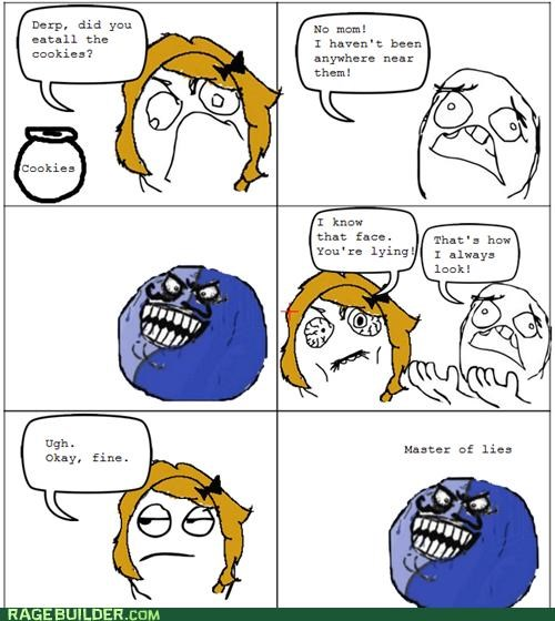 cookies i lied Rage Comics that face - 4928999168