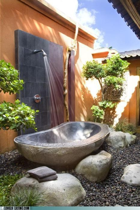 courtyard,outdoors,patio,shower