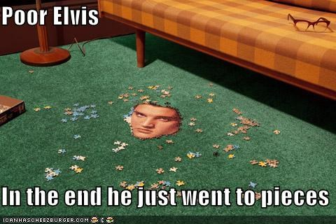 Elvis funny Photo puzzle - 4929251840