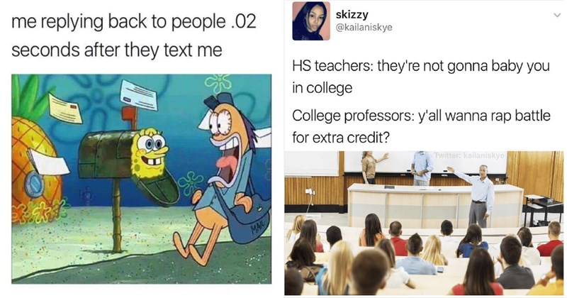 Funny memes about animals, school, work, fashion, drugs, life, cats, dogs, fashion, tv, texting, twitter.