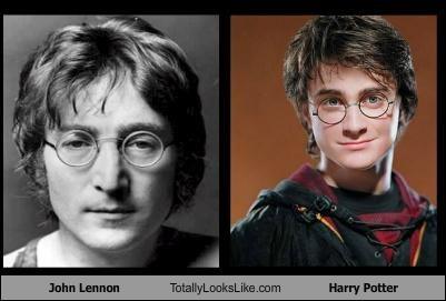 actors Daniel Radcliffe glasses Harry Potter john lennon movies musicians - 4929430272