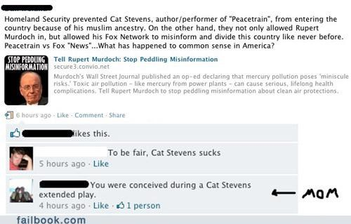 cat stevens,oh snap,parents