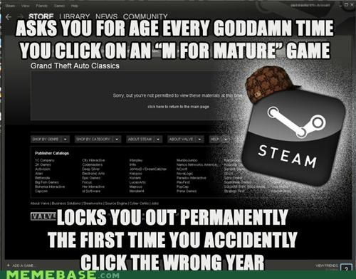 age hat mature Memes steam video games - 4930033664