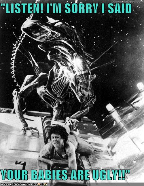 actor,Aliens,celeb,funny,Movie,sigourney weaver