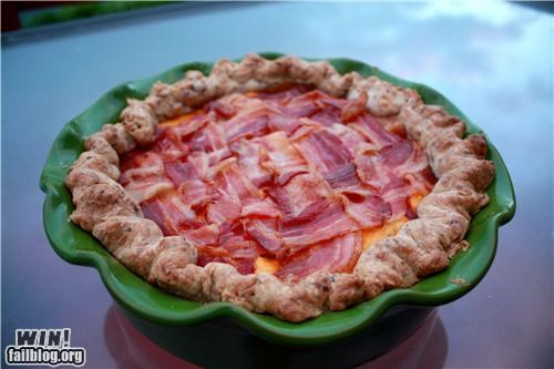 bacon,delicious bacon,food,pie