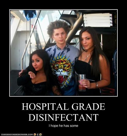 HOSPITAL GRADE DISINFECTANT I hope he has some