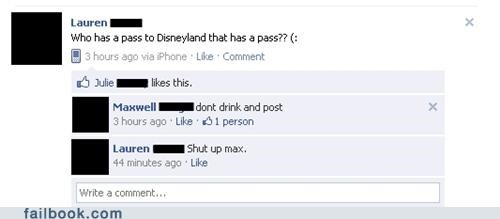 alcohol drunk nonsense funny disneyland - 4932252160