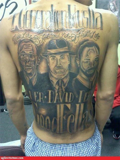 back tattoos goodfellas mafia