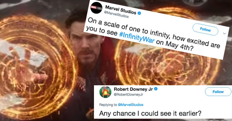 twitter news robert downey jr infinity war superheroes win avengers - 4934149