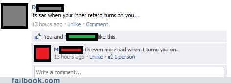 turned on,retard,funny