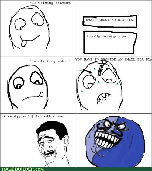 email,fake,i lied,Rage Comics