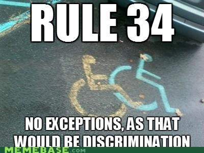 discrimination handicap Memes open Rule 34 - 4935254528