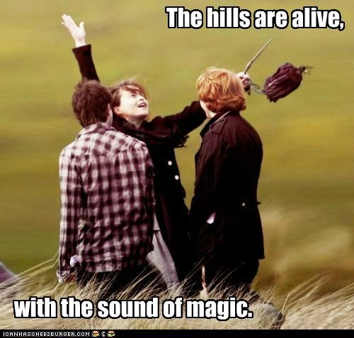 The hills are alive, with the sound of magic.