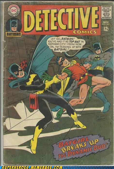 batgirl batman robin Straight off the Page struggle - 4935341056