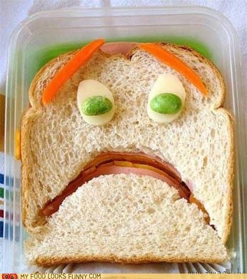 face no pleading Sad sandwich - 4935763200