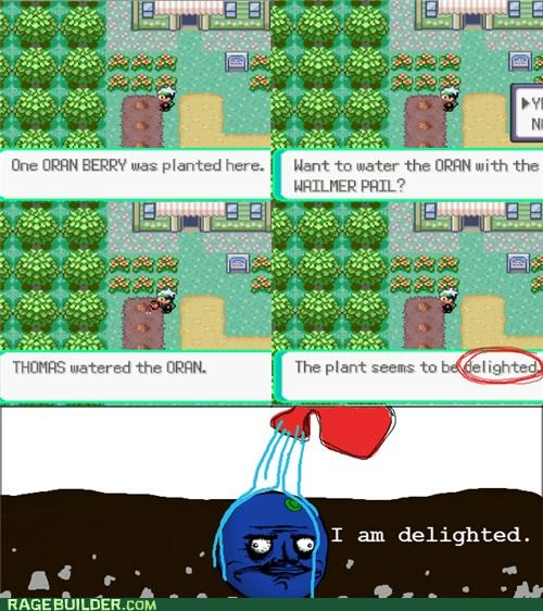 delighted me gusta plant Pokémon Rage Comics water - 4936116480