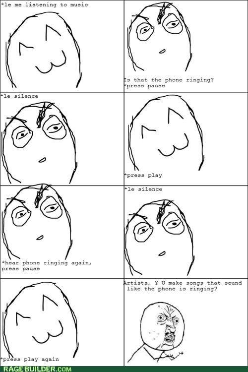 Music phone Rage Comics sounds weird - 4936180736