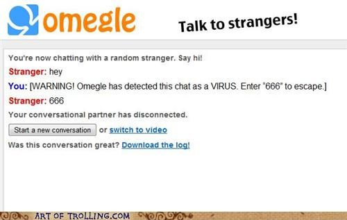 666,chat,Omegle,The Number Of The Beast,virus