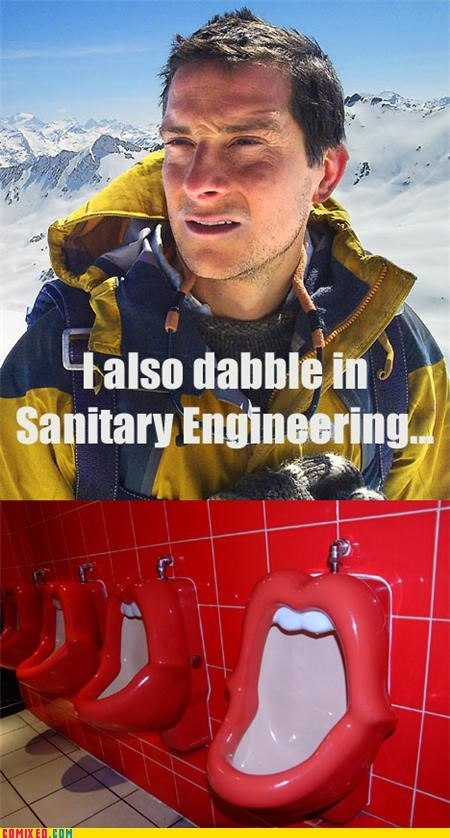 bear grylls mouth pee the internets urinal - 4937087744