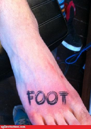 foot tats words - 4937150464