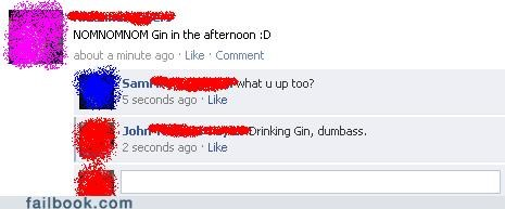 alcohol captain obvious gin funny