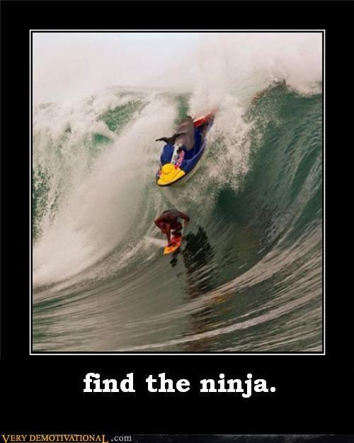 jetski ninja Terrifying wave wtf - 4937711104