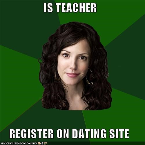 why are there so many teachers on dating sites