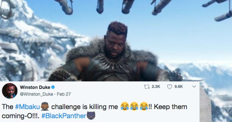 twitter impression black panther challenge win - 4937989