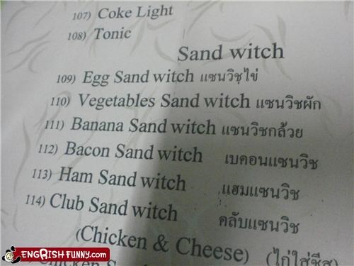 food menu witch - 4938851840