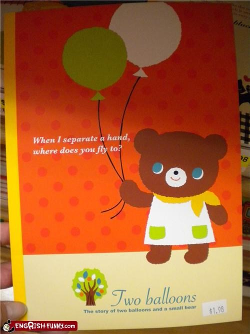 anything-but-my-appendages Balloons book children - 4939019520