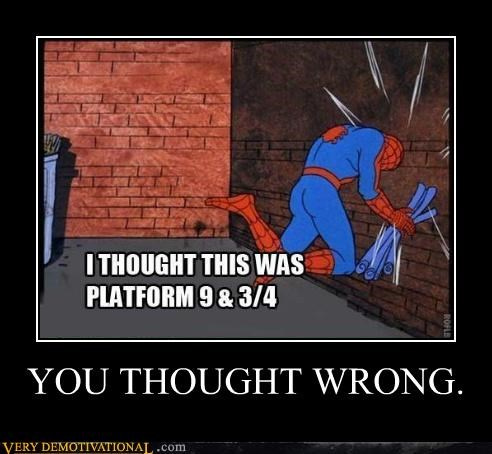 Harry Potter Spider-Man wizard funny - 4939900928