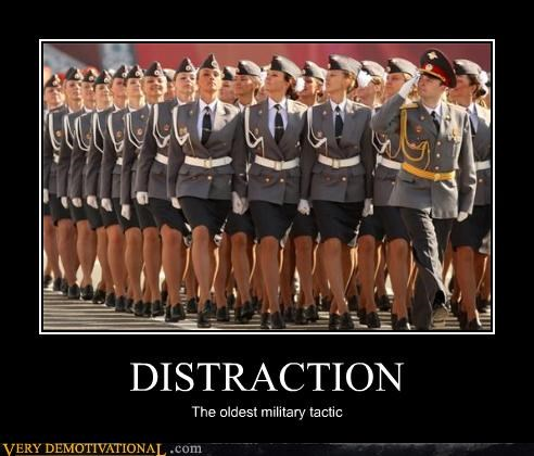 distraction,hilarious,military,Sexy Ladies