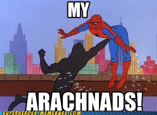 punch Spider-Man Super-Lols testicles - 4940291840