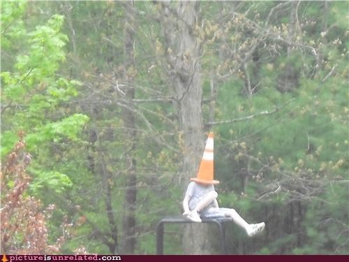 conehead,everywhere,woods,wtf
