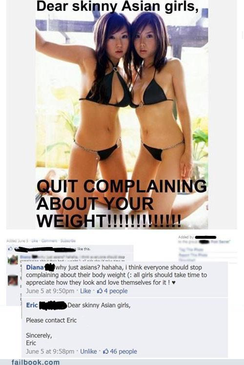 Photo skinny asian girls witty reply - 4941197824