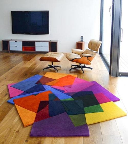 Sonya Winner,Vibrant Contemporary Rug