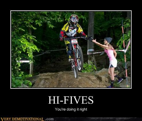 bmx,doing it right,high fives,Pure Awesome,wtf