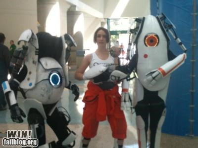 cosplay costume nerdgams Portal video games - 4941447680