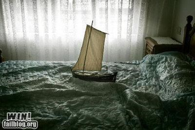 bed,boats,clever,sheets,ship