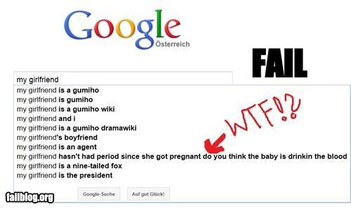 Autocomplete Me failboat girlfriend gross Hall of Fame menstruation - 4941713920