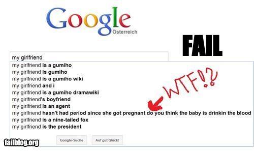 Autocomplete Me failboat girlfriend gross Hall of Fame menstruation - 4941713920