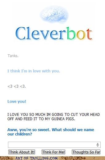 Awkward children Cleverbot love - 4941744896